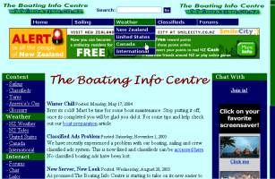 The Boating Info Centre - Designed, developed, maintained and hosted by Solution Second