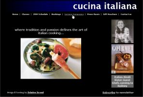 Cucina Italiana - Developed, maintained and hosted by Solution Second