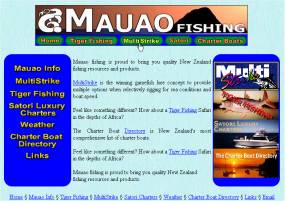 Mauao Fishing - Design by Solution Second.