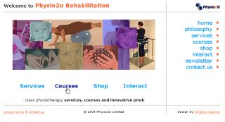 Physio2U New Zealand Physiotherapy - Designed, developed, maintained and hosted by Solution Second